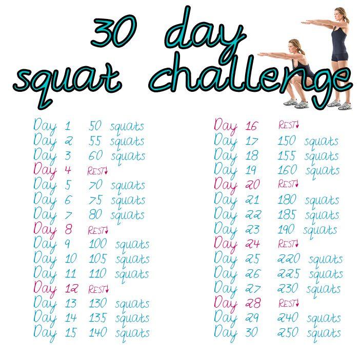 kaalulangus 30 paeva squat challenge