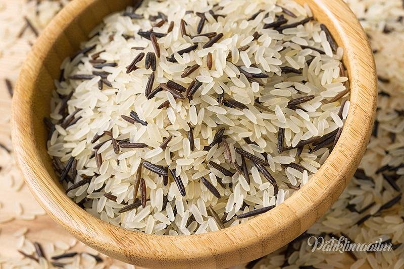 kaalulangus ei soo riisi